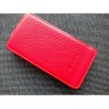 Кожаный чехол Melkco Leather Case Red LC для HTC One V(#1)