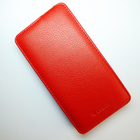 Чехол книга Armor Case Red для Lenovo A766