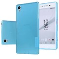 Силиконовый чехол Nillkin Nature TPU Case Blue для Sony Xperia Z5(#3)