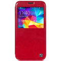Кожаный чехол HOCO Crystal leather Case Red для Samsung G900F Galaxy S5(#1)
