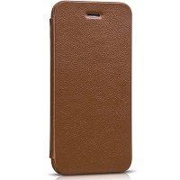 Кожаный чехол HOCO Premium Folder Series Brown для Apple iPhone 6/6S