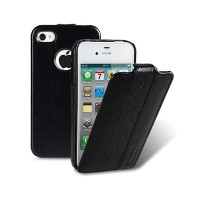 Кожаный чехол Melkco Limited Edition Vintage Black для Apple iPhone 4/4S