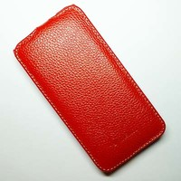 Кожаный чехол Melkco Leather Case Red LC для HTC Desire 300