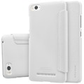 Полиуретановый чехол Nillkin Sparkle Leather Case White для Xiaomi MI4i(#3)