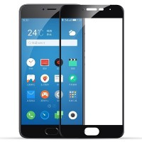 Защитное стекло Aiwo Full Screen Cover 0.33 mm Black для Meizu M3 Mini\ M3s