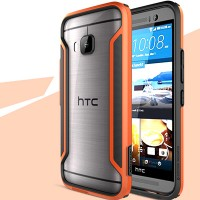 Пластиковый бампер Nillkin Armor-Border series Orange для HTC One M9