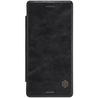 Кожаный чехол Nillkin Qin Leather Case Black для Sony Xperia X Performance