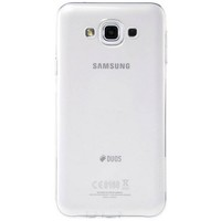 Силиконовый чехол Nillkin Nature TPU Case White для Samsung Galaxy E7
