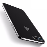 Силиконовый бампер Hoco Light Series TPU Case Transparent для Apple iPhone 7 Plus/iPhone 8 Plus
