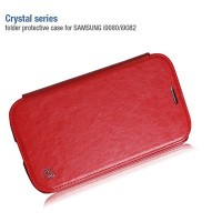 Кожаный чехол HOCO Crystal leather Case Red для Samsung i9060 Galaxy Grand Neo