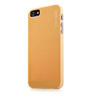 Силиконовый чехол Capdase Soft Jacket Lamina Yellow для Apple iPhone 5/5S/5SE