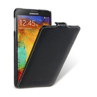 Кожаный чехол-книга Melkco Leather Case Black LC для Samsung N9000 Galaxy Note 3