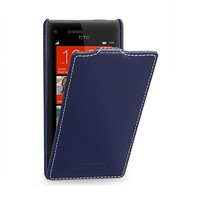 Кожаный чехол Melkco Leather Case Dark Blue LC для HTC Windows Phone 8X