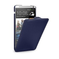 Кожаный чехол Melkco Leather Case Dark Blue LC для HTC One Max/T6