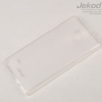 Силиконовый чехол Jekod TPU Case White для Samsung G850 Galaxy Alpha