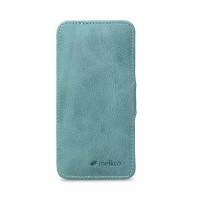 Кожаный чехол Melkco Leather Case Vintage Lake Blue для Apple iPhone 5/5S/5SE