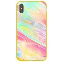 Чехол NILLKIN Ombre Case Желтый для Apple iPhone XS Max