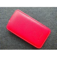 Кожаный чехол Melkco Leather Case Red LC для Samsung i8160 Galaxy Ace 2