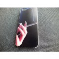 Пластиковый чехол Hand with a cigarette Black для Apple iPhone 5/5S/5SE(#3)