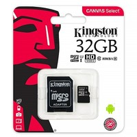 Карта памяти Kingston Canvas Select Micro SDHC UHS-1 32Gb
