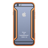 Пластиковый бампер Nillkin Armor-Border series Orange для Apple iPhone 6/6S