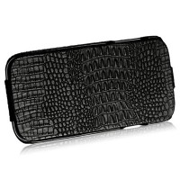 Кожаный чехол Borofone Crocodile leather Case Black для Samsung i9500 Galaxy S4