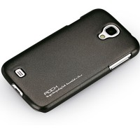 Пластиковый чехол ROCK NEW NakedShell Series Black для Samsung i9500 Galaxy S4