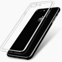 Силиконовый бампер Becolor TPU Case 0.6mm Transparent для Apple iPhone 7 Plus/iPhone 8 Plus