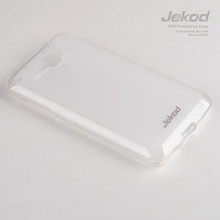 Силиконовый чехол Jekod TPU Case White для Alcatel One Touch Idol 6030X