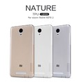Силиконовый чехол Nillkin Nature TPU Case White для Xiaomi Redmi Note 2(#4)