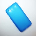 Силиконовый чехол Becolor Light Blue Mat для Samsung i9070 Galaxy S Advance(#1)