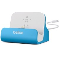 Док-станция BELKIN CHARGE+SYNC MIXIT IPHONE 6 DOCK BLUE для Apple iPhone 6/6S