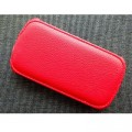 Кожаный чехол Armor Case Red для Samsung i8190 Galaxy S3 mini(#1)