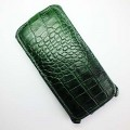 Кожаный чехол Abilita Leather Case Green Crocodile для HTC Desire 610(#1)