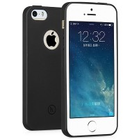 Силиконовый чехол HOCO Juice Series Black для Apple iPhone 5/5S/5SE