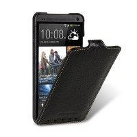 Кожаный чехол Melkco Leather Case Black LC для HTC One M7