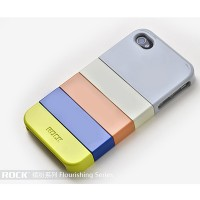 Пластиковый чехол ROCK Flourishing Series Naked Ultra Thin №2 для Apple iPhone 4/4S