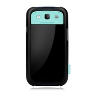 Пластиковый чехол Zenus Walnutt milk bar Series Real Black для Samsung i9300 Galaxy S3