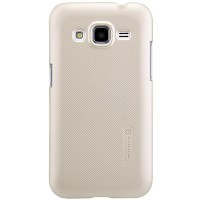 Пластиковый чехол Nillkin Nillkin Super Frosted Shield Gold для Samsung G360 Galaxy Core Prime