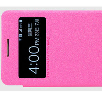Полиуретановый чехол Nillkin Sparkle Leather Case Rose для Samsung G355H Galaxy Core 2 Duos