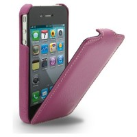 Кожаный чехол Melkco Leather Case Purple LC для Apple iPhone 4/4S