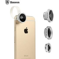 Магнитный объектив Baseus Mini Lens Series 3 в 1 для Apple iPhone 6/6S