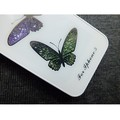 Пластиковый чехол Butterfly White Crystal для Apple iPhone 5/5S/5SE(#2)