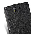 Кожаный чехол Melkco Leather Case Black LC для Sony Xperia Z L36h(#4)