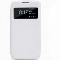 Кожаный чехол Nillkin Stylish Leather Case White для Samsung i9190 Galaxy S4 mini