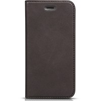 Кожаный чехол HOCO Luxury Series Dark Grey для Apple iPhone 6/6S