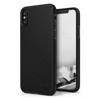 Чехол накладка Ringke Slim Черный (Black) для Apple iPhone X