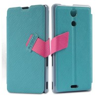 Полиуретановый чехол Baseus Faith Series Light Blue для Sony Xperia ZR M36h