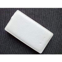 Кожаный чехол Melkco Leather Case White LC для Nokia Lumia 900