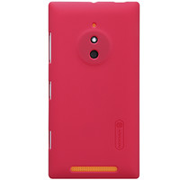 Пластиковый чехол Nillkin Super Frosted Shield Red  для Nokia Lumia 830
